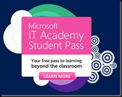 Microsoft IT Academy Student Pass