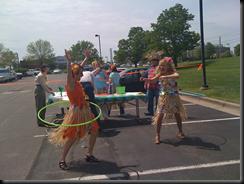 Hula hoop contests!