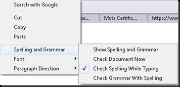 Spelling and Grammars!