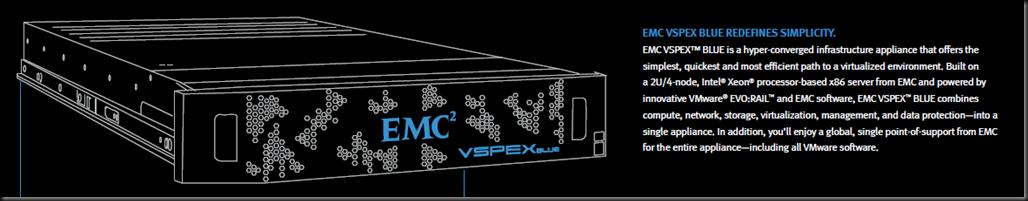 EMC VSPEX BLUE Redefined Simplicity